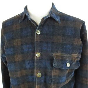 Vtg True Grit Large Relaxed Fit Corduroy L/S Shirt